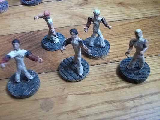 sculpture de figurines PaysanEpoxyPateModeleTerraCotta3